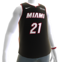 2018 Heat Whiteside Jersey