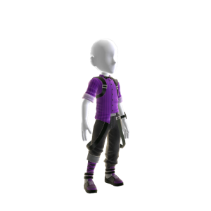 Roupa de agente DCI do Glitch