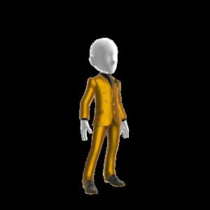 Coach Suit - Gold