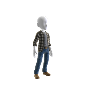 Alan Wake Arizona Outfit - Male