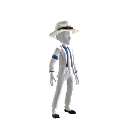 Traje de Smooth Criminal.