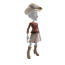 Armadillo Woman Outfit