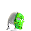 Skeleton Mask Green Chrome