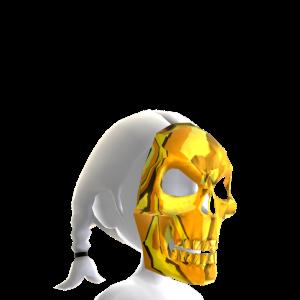 Skeleton Mask Gold Chrome