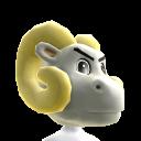 UNC Mascot Head