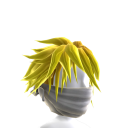White Archer Mask with Yellow Hair