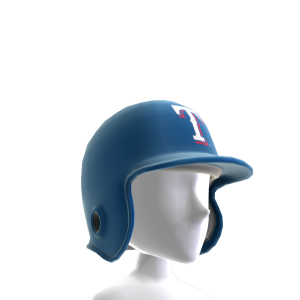 Texas Rangers Batter's Helmet