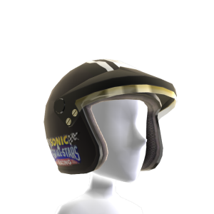 Racing Helmet (Black)