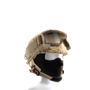 Desert Camo Helmet