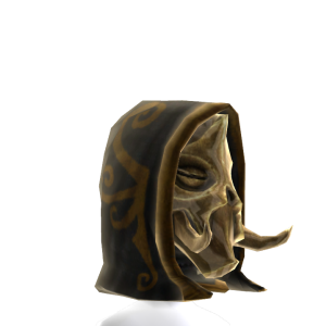 Skyrim Dragon Priest Face Mask