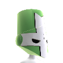 Green Knight Helmet