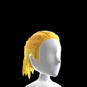 Gold Nebula Dreadlock Ponytail