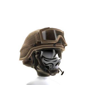 Military Patrol Helmet - Desert