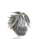 White Archer Mask with White Hair