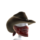 Cappello da fuorilegge western 
