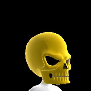 Gold Skull Helmet