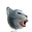Epic Crying Blue Cat Helmet