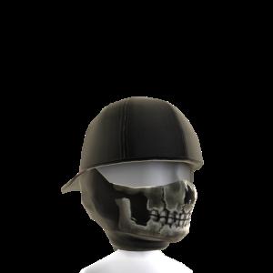 Skull Balaclava and Backwards Cap