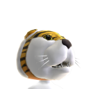 LSU Mascot Head