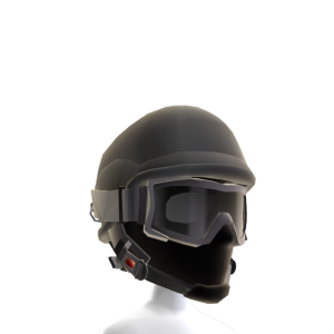 SpecOps Helmet with Goggles