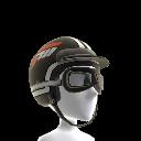 Vintage Helmet and Goggles