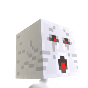 Minecraft Ghast Head