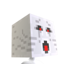 Minecraft Ghast-hoved 