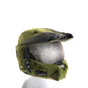 Mjolnir Mark VI Helmet- Green 