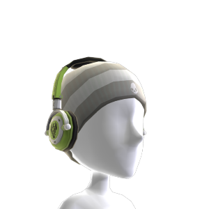 Lowrider Green-Blk Headphones