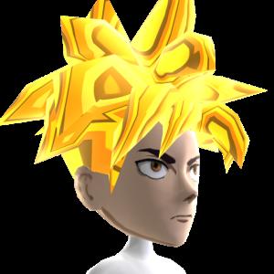 Anime Hero 5 Gold Chrome