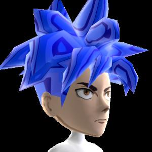 Anime Hero 5 Blue Chrome