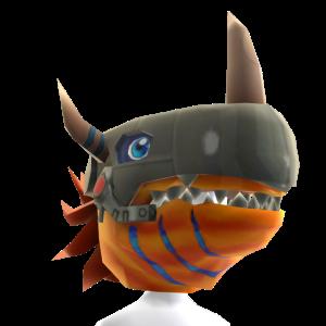 MetalGreymon Mask