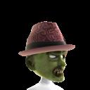 Zombie Mask with Fedora