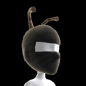 Masque de ninja et antennes