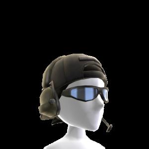 Black Urban Combat Headgear