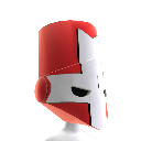 Red Knight Helmet