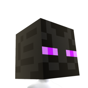 "Minecraft-Kopf ""Enderman"""