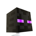 Testa Minecraft Enderman