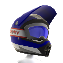 Casco Rainbow azul