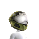 Security Helmet Green