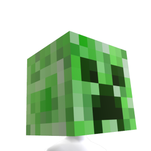 Minecraft Creeper 가면
