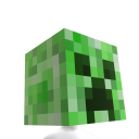 Minecraft Creeper hoved