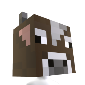 Minecraft Tte de vache 