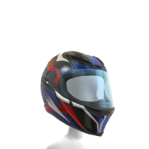 Bobsleigh Helmet - Red