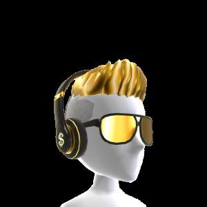 Bling Headphones and Fresh Hair