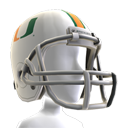 Miami Football Helmet