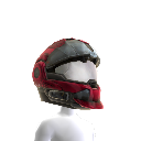 CQC Helmet - Red