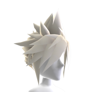 Anime Hero Hair - Platinum