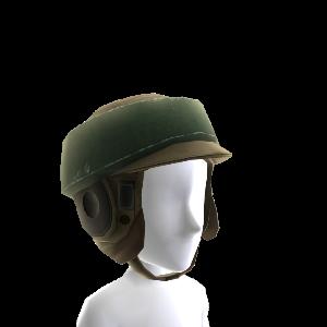 Casco de combate de soldado rebelde de Endor