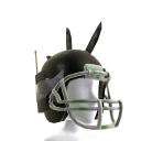 Zombie Battle Helmet - Black